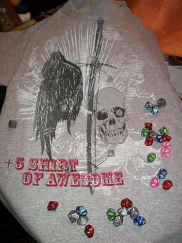 +5 Shirt of Awesome