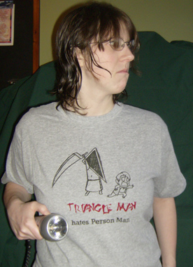 Triangle Man Silent Hill T-shirt