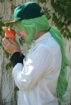 N Harmonia cosplay wig (and friend)