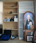 Birdy's bedroom and MORE SHELVES