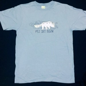 """Fly Sky Bison"" shirt"