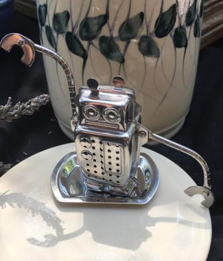 """In the future there is only one kind of tea infuser: the robot."""