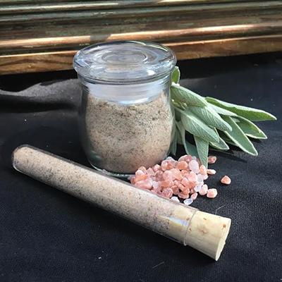 Himalayan Pink Salt and Organic Sage 1