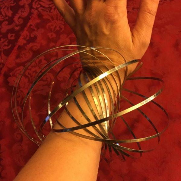 Flow Ring on wrist