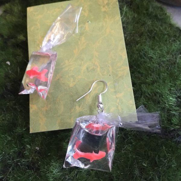 Goldfish earring hooks