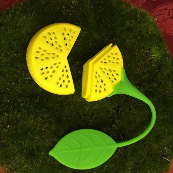 Lemon Tea Infuser Open