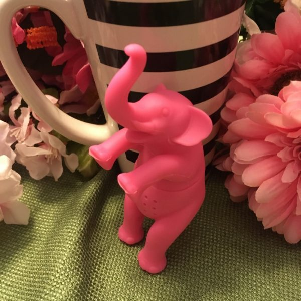 Pink Elephant Tea Infuser 1