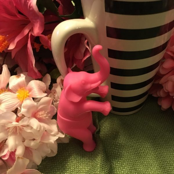 Pink Elephant Tea Infuser 3