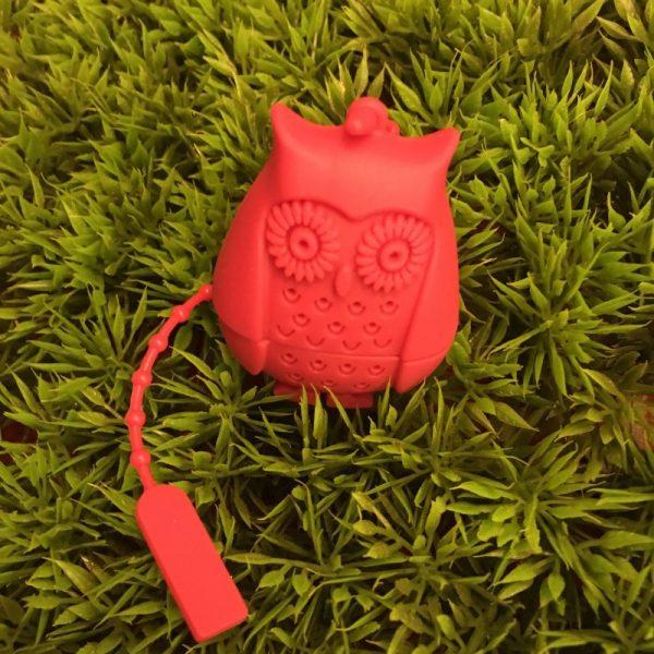 Red Owl Tea Infuser