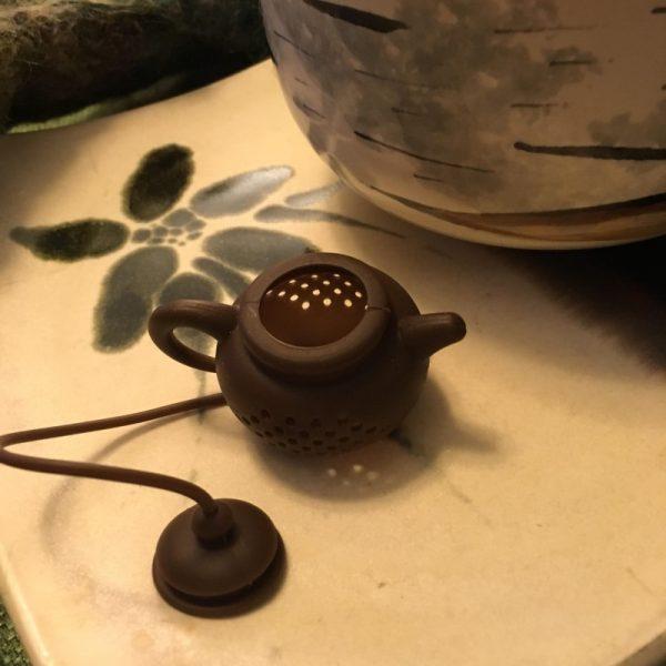 Tea Pot Tea Infuser Open