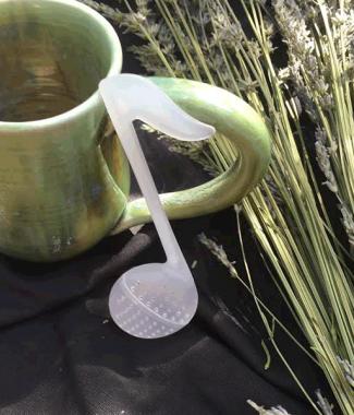 music note tea infuser
