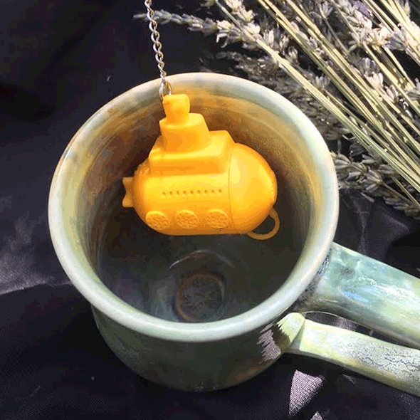 goldenrod submersible tea infuser