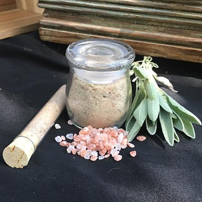 Himalayan Pink Salt and Organic Sage 2