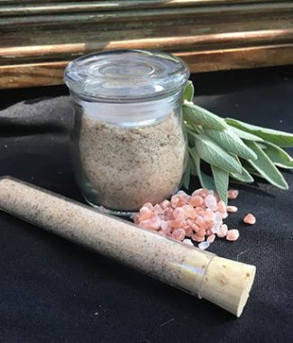 Himalayan Pink Salt and Organic Sage 1