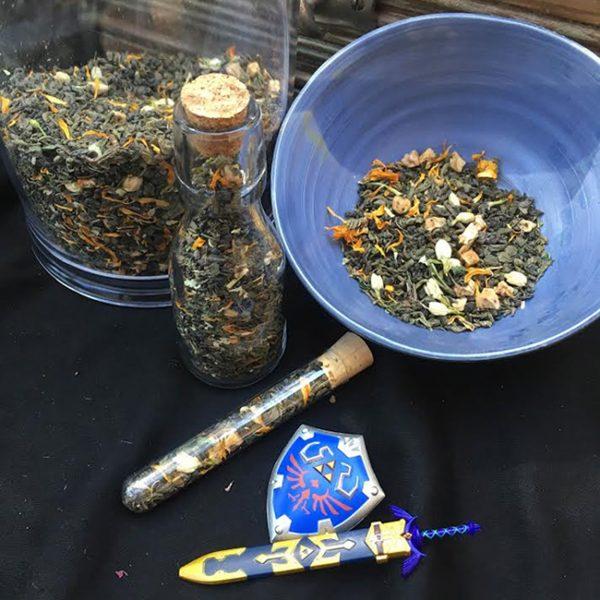 Hylian Fields tea blend