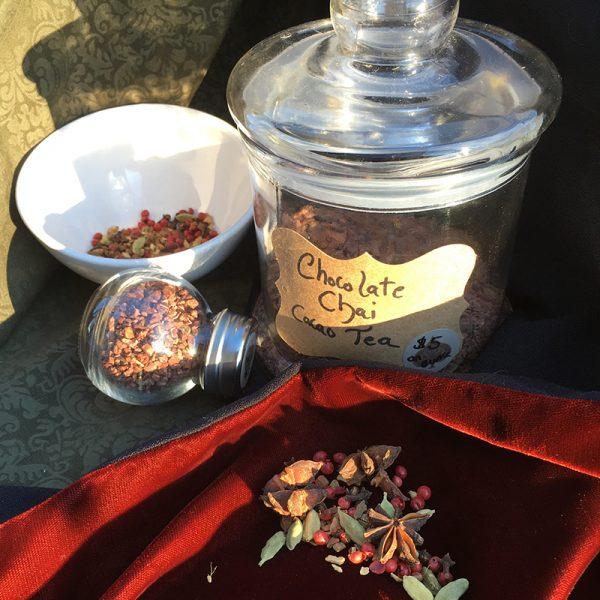 chocolate chai cacao tea