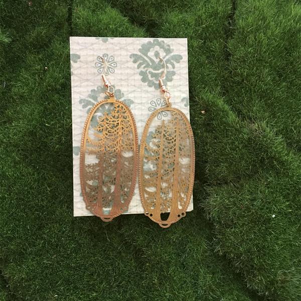 tall tree earrings
