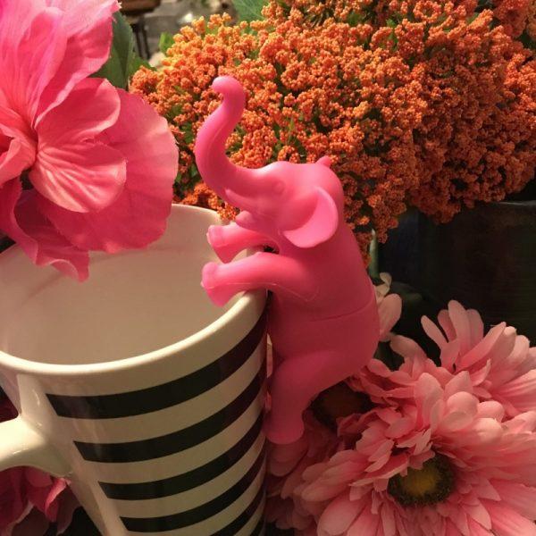 Pink Elephant Tea Infuser 2