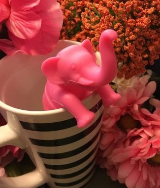 Pink Elephant Tea Infuser