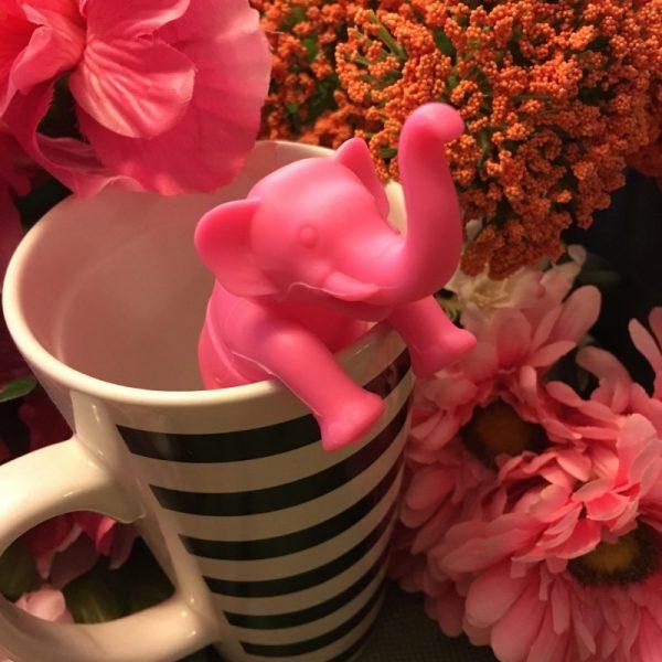 Pink Elephant Tea Infuser