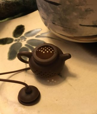 Tea Pot Tea Infuser Open