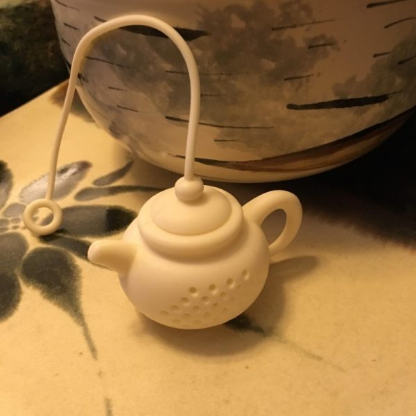 Tea Pot Tea Infuser White Style