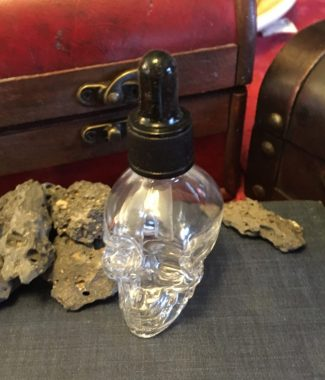 Skull dropper bottle
