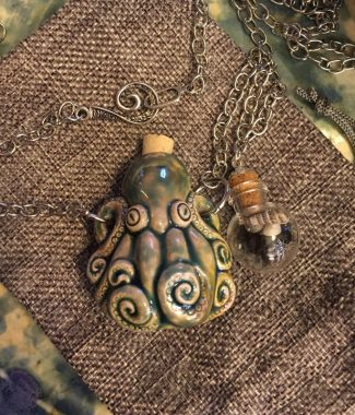 cephalopod pendant